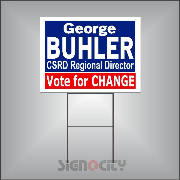 Election Signs 102