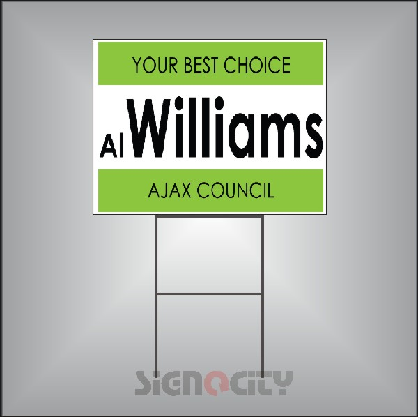 Election Signs 107