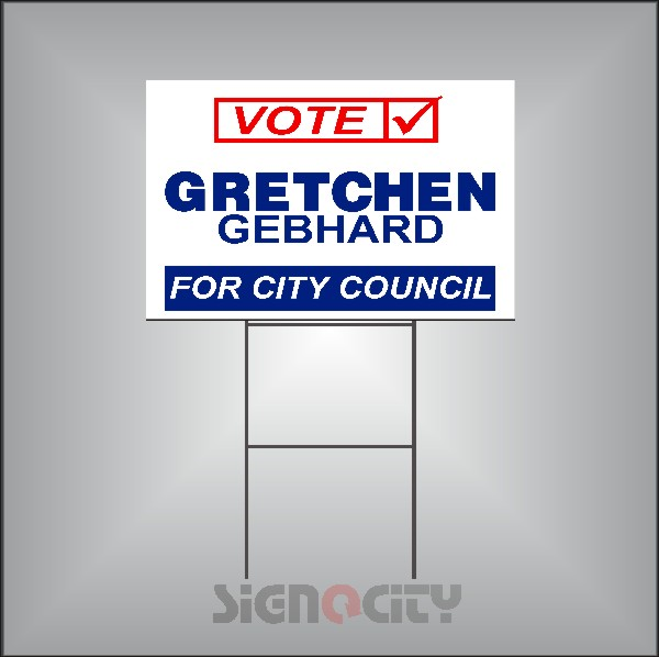 Election Signs t